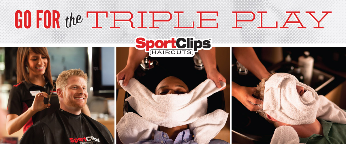 The Sport Clips Haircuts of Seattle - Roosevelt Square  Triple Play